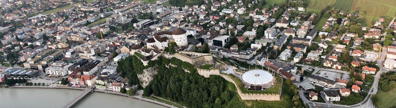 Frühlingsbild Stadt Kufstein
